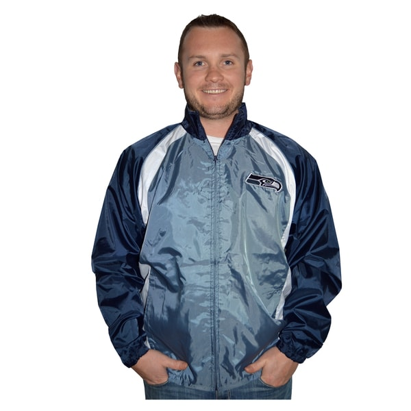 Seattle Seahawks Lightweight Full Zip Jacket