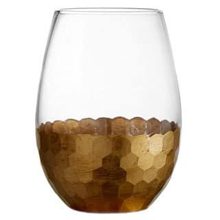Fitz and Floyd Daphne 20-ounce Gold Stemless Glasses (Set of 4)|https://ak1.ostkcdn.com/images/products/9617968/P16803207.jpg?impolicy=medium