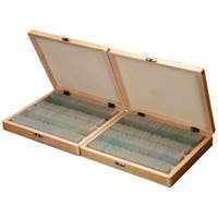200-piece Prepared Microscope Glass Slide Set