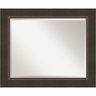 Wall Mirror Large, Milano Bronze 35 x 29-inch