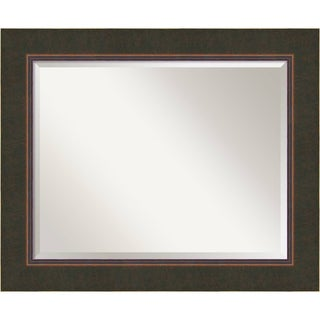 Wall Mirror Large, Milano Bronze 35 x 29-inch - large - 35 x 29-inch