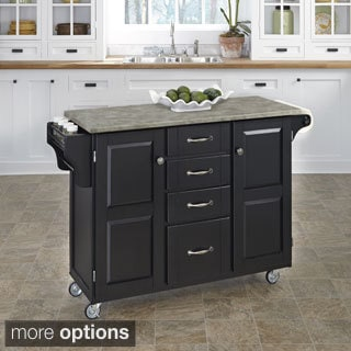 Home Styles Create-a-Cart with Concrete Top