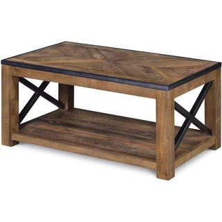 Magnussen Penderton Wood Small Rectangular Cocktail Table