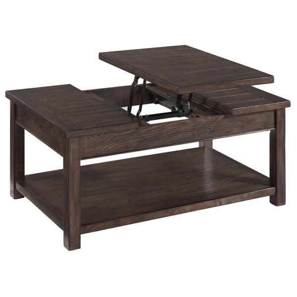 Clayton Coffee Table: Shop Magnussen Clayton Rectangular Lift-Top Cocktail Table