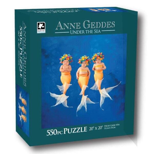 Anne Geddes 550-Piece Underwater Puzzles