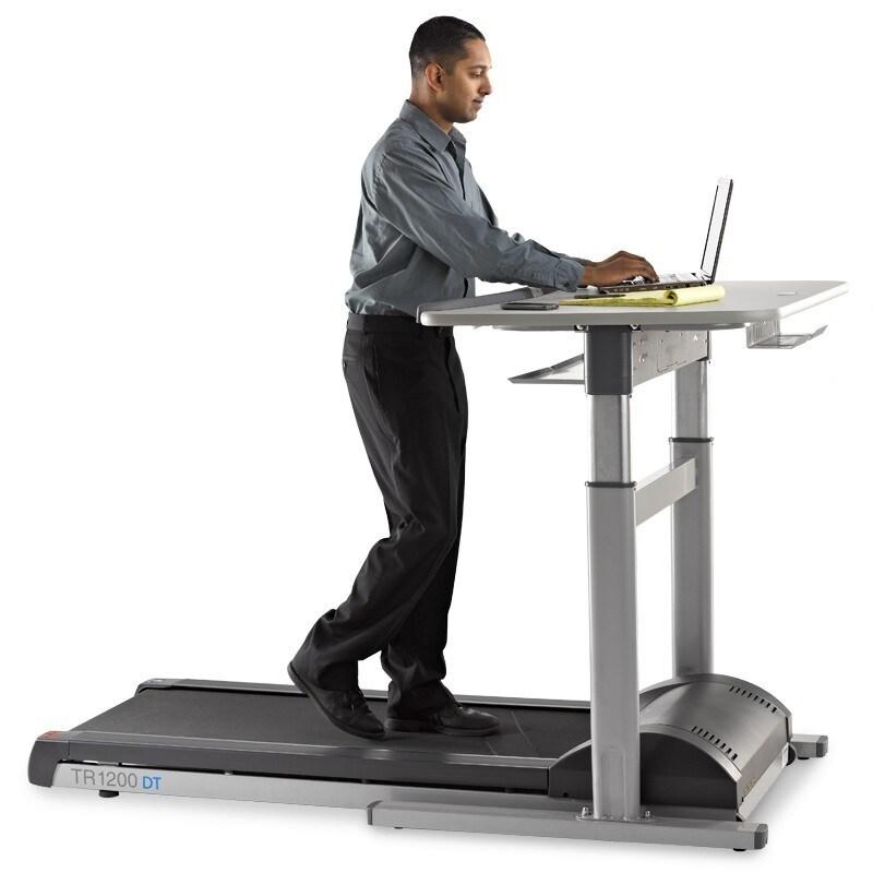 Lifespan TR1200-DT7 Desktop Treadmill (electric height ad...