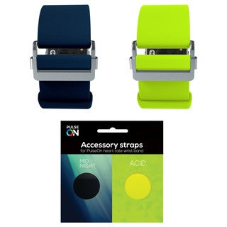 PulseOn Acid and Midnight Accessory Straps