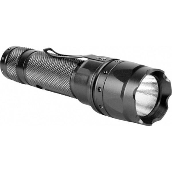 AIM Sports 180 Lumen with Offset Mount Black Flashlight