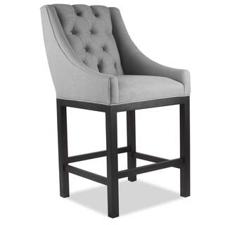 Alexa Premium Linen Barstool