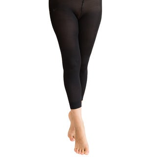Coquettes Light Control Top Footless Nero Pantyhose