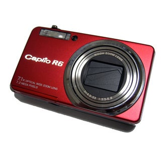 Ricoh Capilo R6 Red 7MP Digital Camera