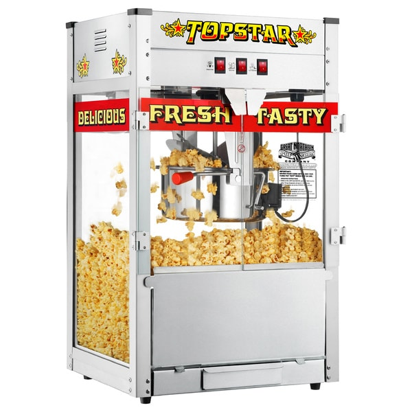 Great Northern TopStar Commercial Quality Bar Style Popcorn Popper Machine