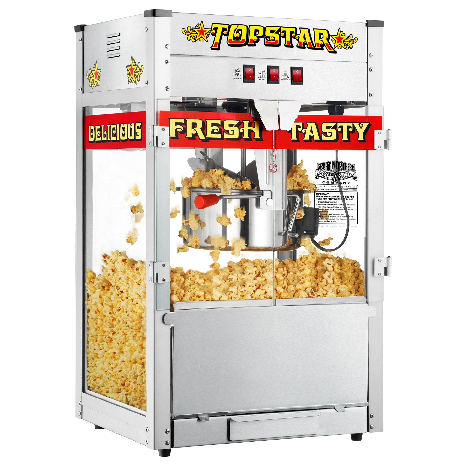 Great Northern TopStar Commercial Quality Bar Style Popco...