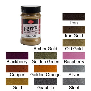 Ferro Metal Effect Textured Paint 3oz