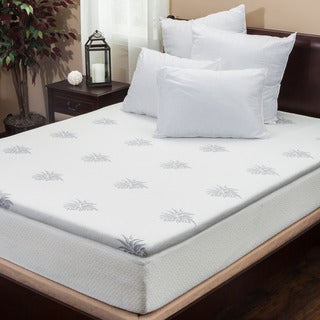 2-inch Gel Memory Foam Mattress Topper by Christopher Knight Home