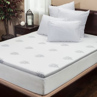 2-inch Gel Memory Foam Mattress Topper by Christopher Knight Home|https://ak1.ostkcdn.com/images/products/9618401/P16803548.jpg?impolicy=medium