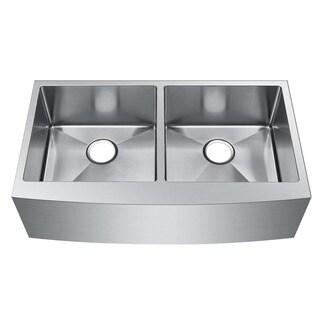 Starstar Double Bowl Farmer Apron 16 Gauge 304 Stainless Steel Kitchen Sink