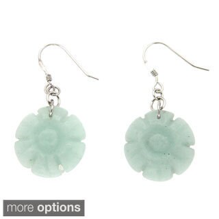 Pearlz Ocean Amazonite Dangle Earrings