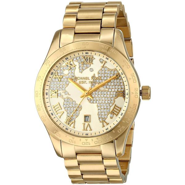 Michael Kors Laukut Pori : Michael kors women s mk layton yellow goldtone watch