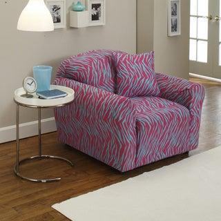 Sanctuary Stretch Jersey Zebra Chair Slipcover