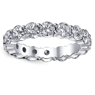 14k White Gold 1 7/8ct TDW Diamond Eternity Ring