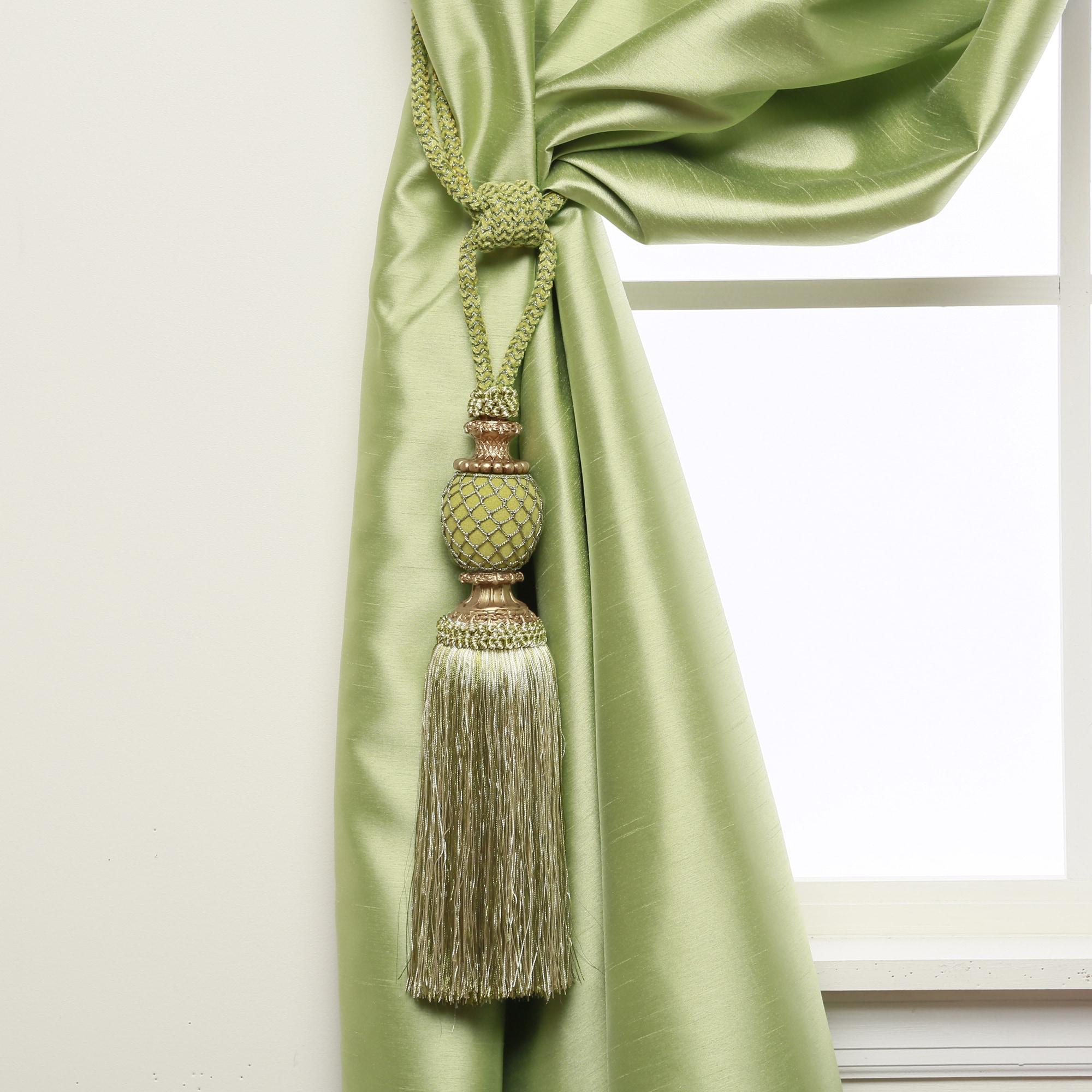 Aurora Home Bella Tassel Curtain Tie Back Pair Free Shipping