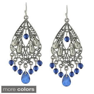 1928 Trendy Filigree Chandelier Drop Earrings