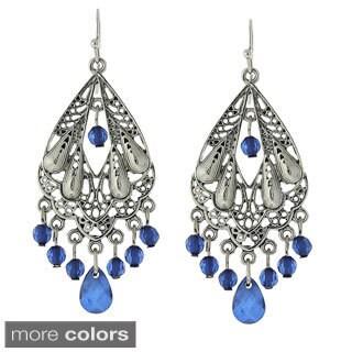 1928 Jewelry Trendy Filigree Chandelier Drop Earrings