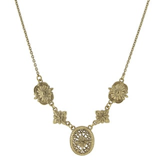 1928 Jewelry Filigree Tailored Necklace