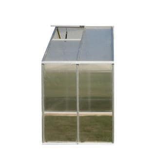 Monticello 8 x 4-foot Aluminum Greenhouse