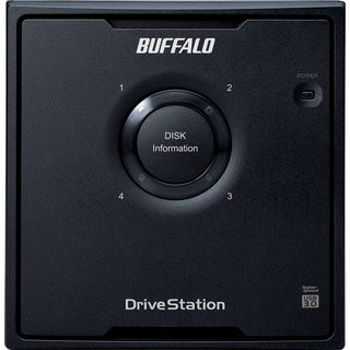 BUFFALO DriveStation Quad USB 3.0 4-Drive 24 TB Desktop DAS (HD-QH24T