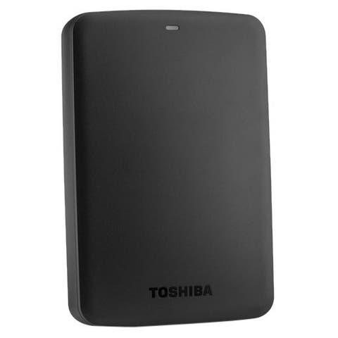 Toshiba Canvio Basics HDTB320XK3CA 2 TB Hard Drive - External - Portable - Black