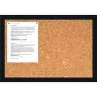 Mezzanotte 26 x 18 Medium Message Cork Board
