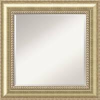 Wall Mirror Square, Astoria Champagne 27 x 27-inch - square - 27 x 27-inch
