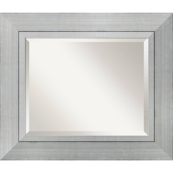 Wall Mirror Medium, Romano Silver 24 x 28-inch