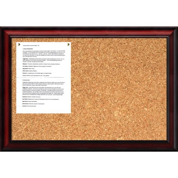 Rubino 27 x 19 Medium Message Cork Boards