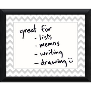 Chevron 31 x 25 Medium Dry-Erase Message Board