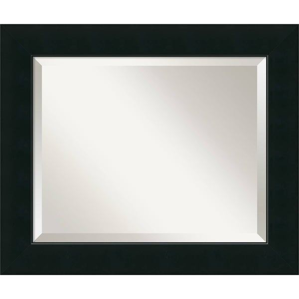 Wall Mirror, Corvino Black Wood