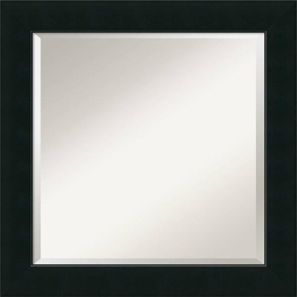 Shop Wall Mirror Square, Corvino Black 25 x 25-inch - Free Shipping ...