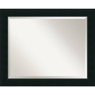 Wall Mirror Large, Corvino Black 33 x 27-inch
