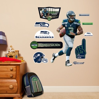 Fathead Jr. Russell Wilson Wall Decals
