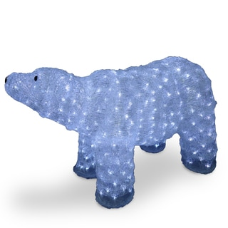20-inch Acrylic Mother Bear with 400 LED Lights