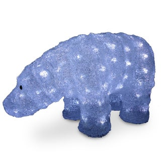 8-inch Acrylic Bear with 120 LED Lights