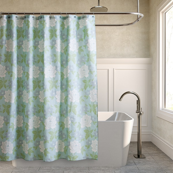 Laura Ashley X27Isadorax27 Floral Shower Curtain