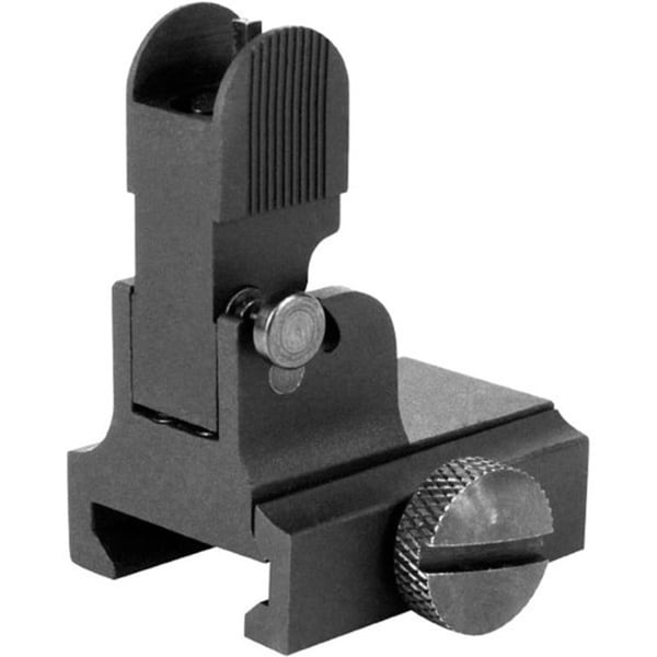 AIM Sports A2 Front Flip Up Sight and Gas Block for AR15 and M16