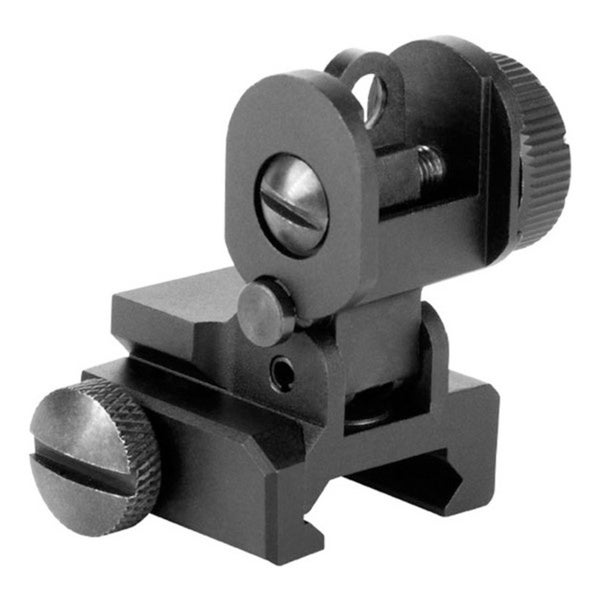 AIM Sports A2 Dual Aperture Rear Flip Up Sight for AR15 and M16