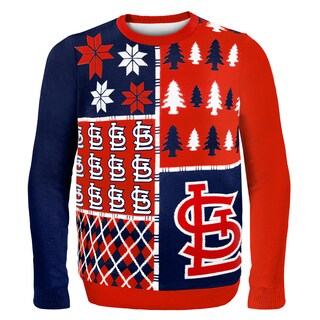 St. Louis Cardinals Busy Block Ugly Sweater