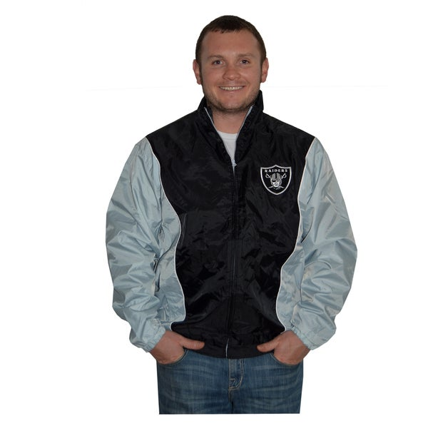 Oakland Raiders Lightweight Full Zip Jacket