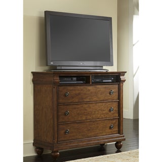 Liberty Rustic Cherry Traditions 3-Drawer Media Chest