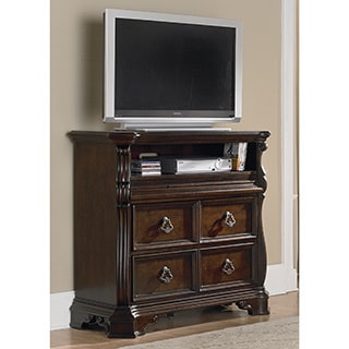 Liberty Brownstone Traditional Brown Entertainment Center